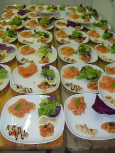 Assiettes rafinées